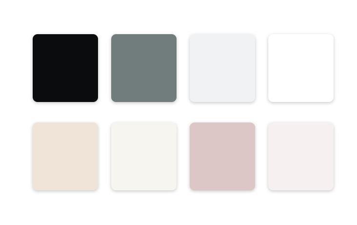 cores claras na decoração de interiores