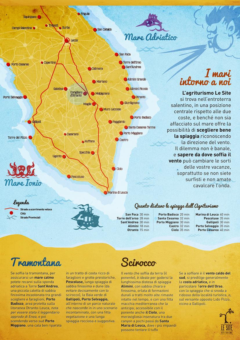 Cartina Italia Gallipoli