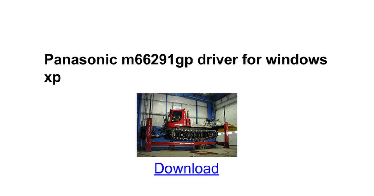 M66291gp драйвер Windows 7