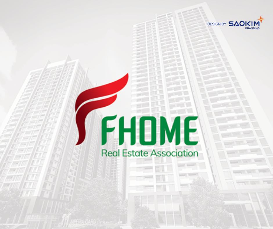 [Saokim.com.vn] Logo Công ty phân phối các dự án bất động sản Fhome thiết kế bởi Sao