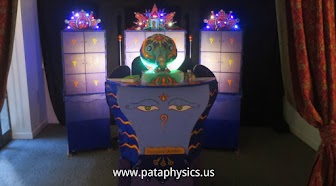 Learn more about the Pataphysical Slot Machine and our art collective: www.pataphysics.us/