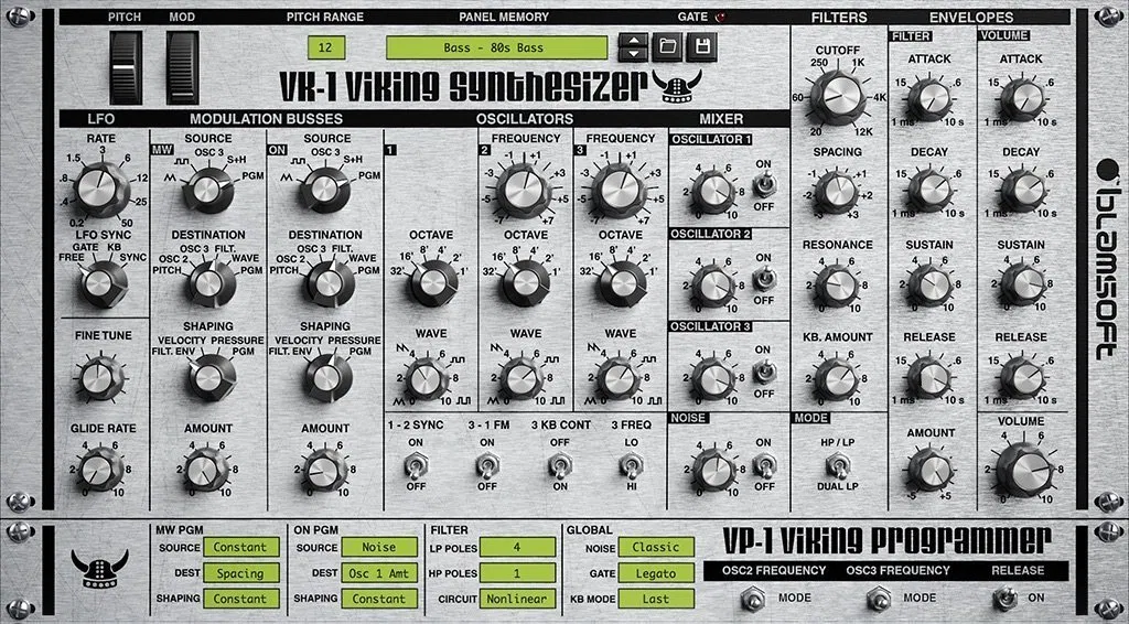 free vst instruments vk-1 synth