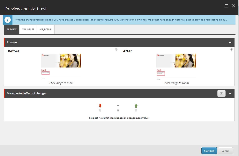 Sitecore testing preview cc Sitecore