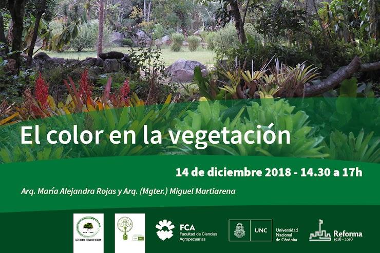 Curso - El color en la vegetación