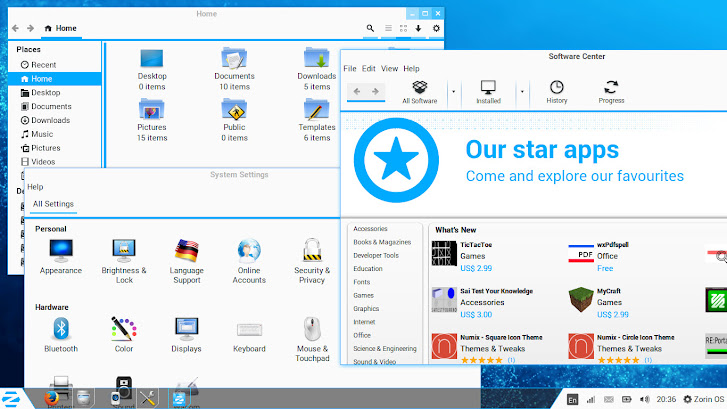 Zorin OS App store