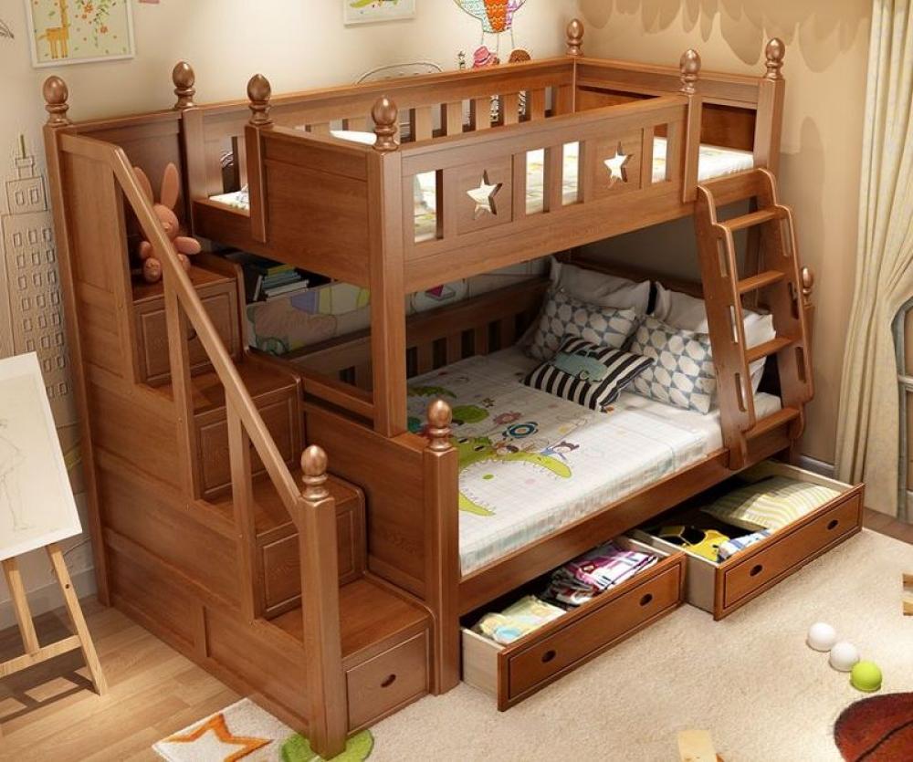 Giường tầng gỗ người lớn 3