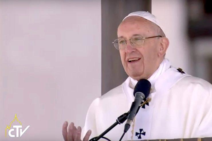 Những lời chia sẻ của Đức Thánh Cha Phanxico với các nạn nhân của bạo lực tại Tòa Khâm sứ ở Bogotá