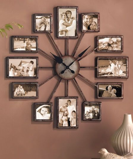 Create An Oversized Wall Clock From Your Timeline Photos