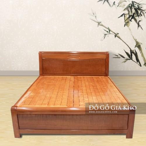 Giường gỗ Xoan Đào Nu