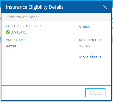 How do I complete insurance eligibility checks? – Knowledge Base
