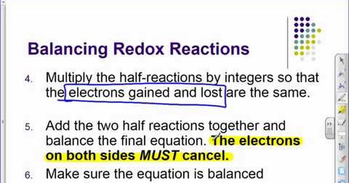 redox reactions In redox reactions and equations (oxidation-reduction reactions) the determination of the oxidation number (or oxidation state) of a chemical compound can.