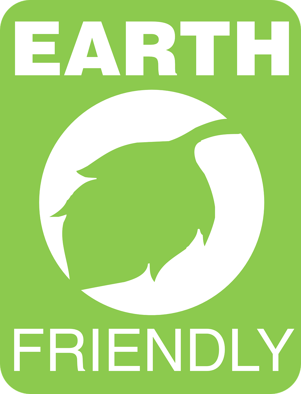 Eco-friendly Cause Awareness Sticker