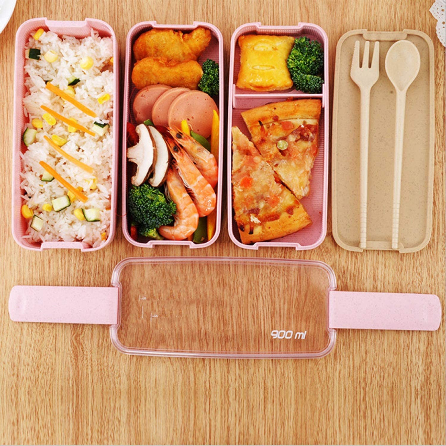 3 - Layered Microwavable Food container