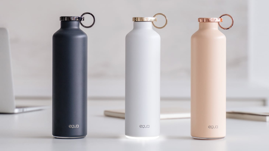 Smart water bottles equa