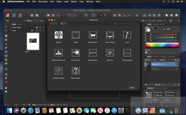 Affinity Publisher 1.8 for macOS Download