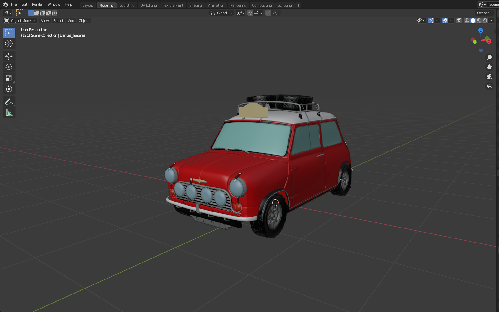 Car Render Challenge - Mini Cooper S