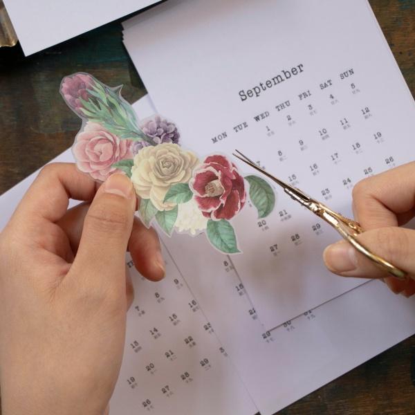 11月活動-2021月曆拼貼創作