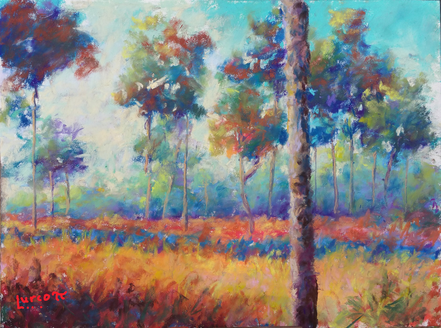 Art 29 The Springtime Grasses 9 x12  pastel.jpg
