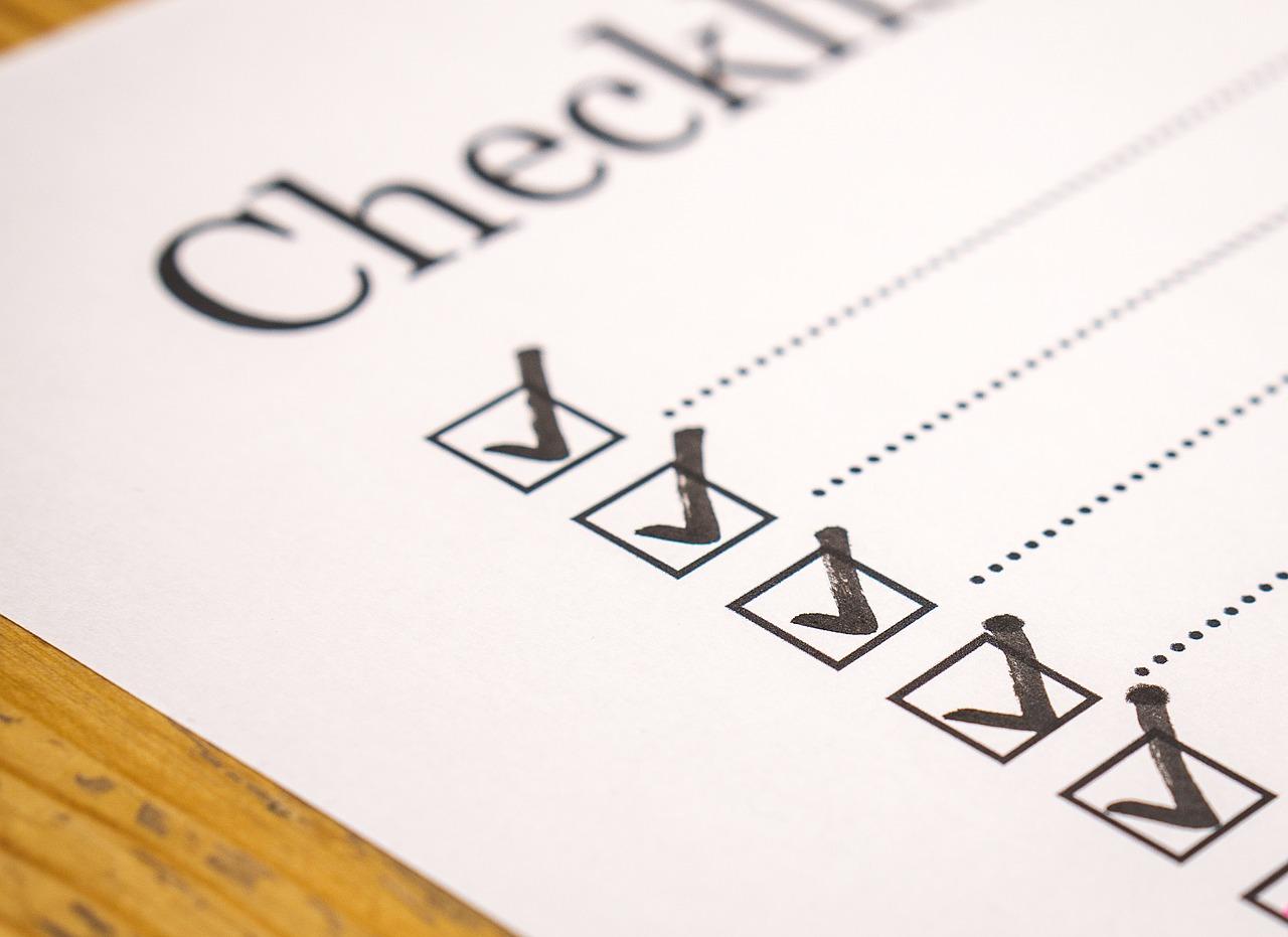 Specific Checklist