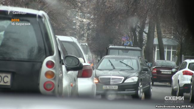 Кортеж Тимошенко біля МВС у Києві 16 березня