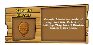 Image result for Ceramic Bloon BTD Battles