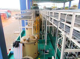 Bồn compoiste chứa hóa chất xử lý nước thải