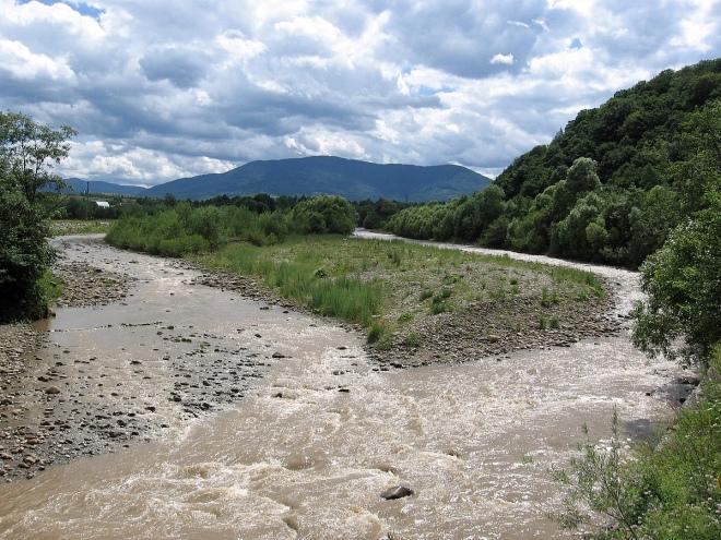 Річка Свіча (одна із приток Дністра)