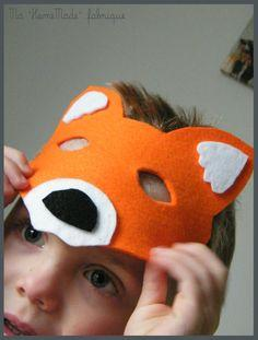 masque et queue de renard, déguisement3