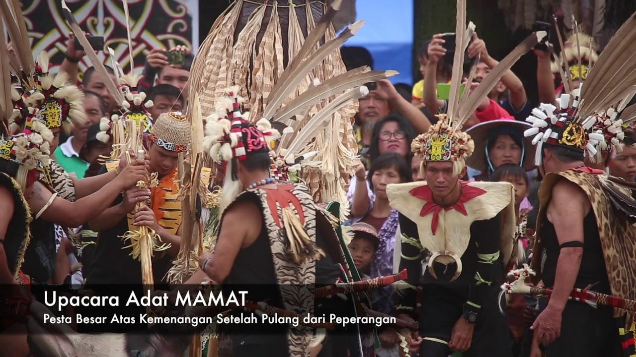 IRAU Malinau 2018 - Upacara Adat Dayak KENYAH - YouTube