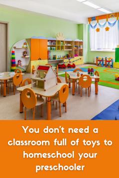 affordable homeschool supplies for preschool