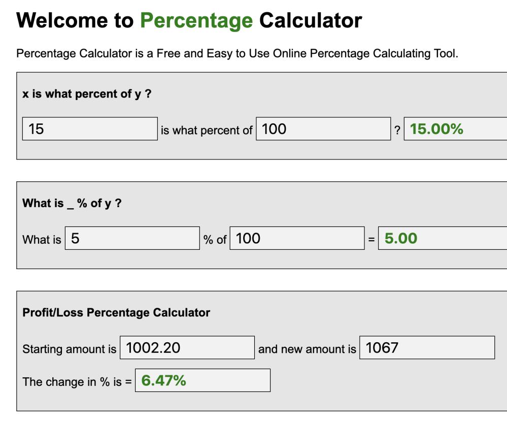 7 Percentage Calculator ideas | calculator, percentage, percent sign