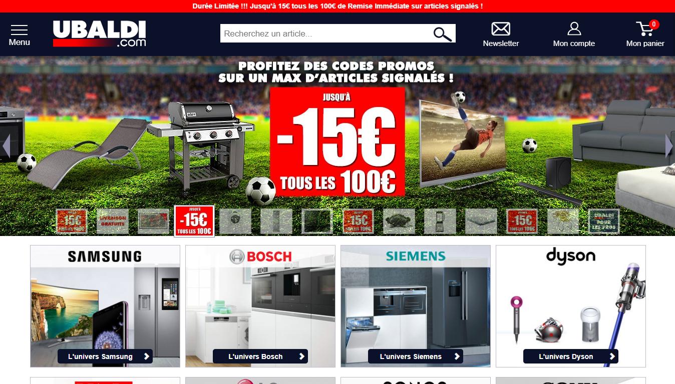 Homepage Ubaldi Marketplace