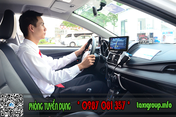 Taxi Group tuyển lái xe taxi