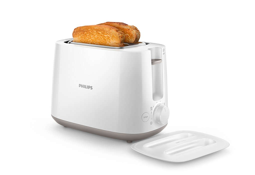 Philips HD2626/15 2-Slice Toaster-Cream (MRP Rs. 1,579/-)
