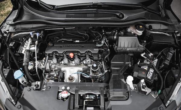 เครื่องยนต์ 1.8L ของ Honda HR-V พอใช้ได้ ขับชิวๆ หรูๆ ไม่เน้นด้านกำลังความแรง