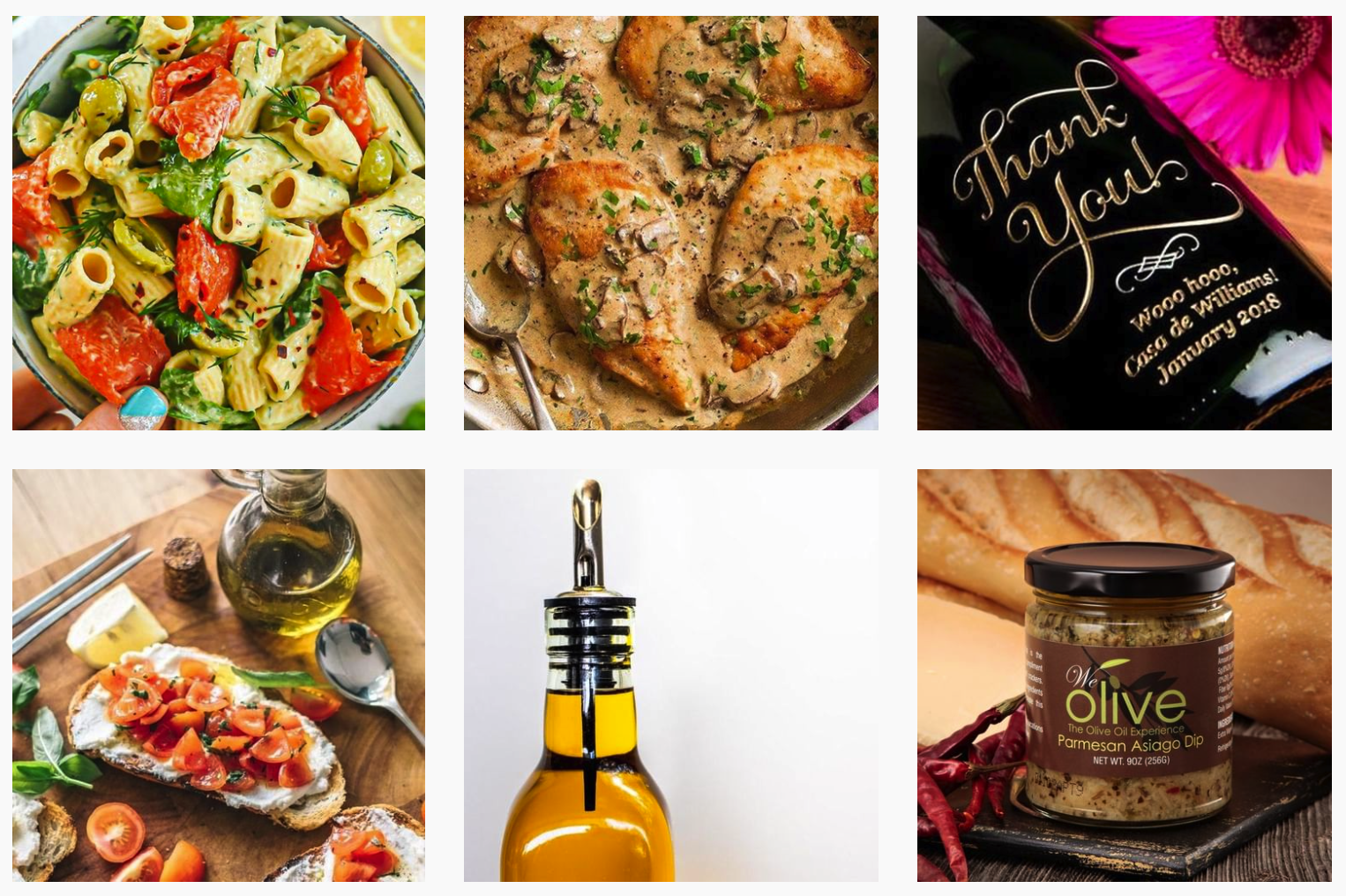 We Olive | Food Brands with Influencer Programs