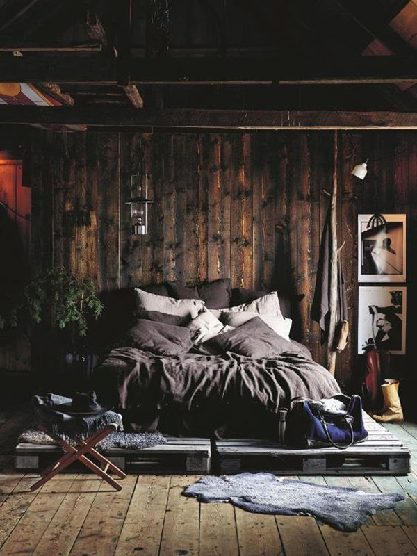 Warm and Cozy Wooden Bedroom Ideas