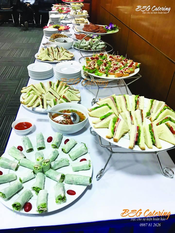 Đặt tiệc teabreak tại Hà Nội
