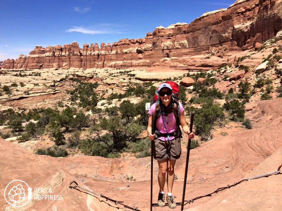 Backpacking in Canyonlands National Park