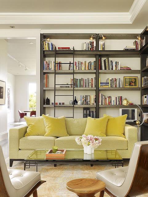Thiết kế phòng khách thanh lịch tối giản