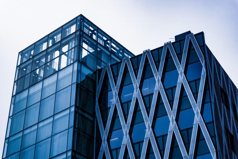 photo of building top under gray sky