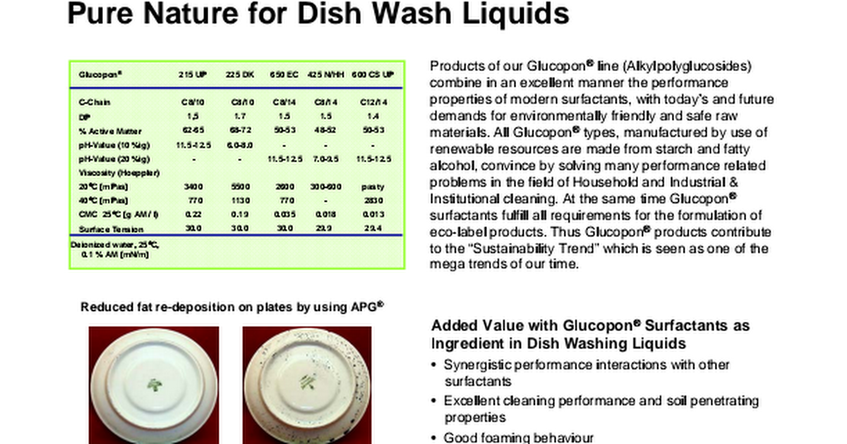 questionnaire on dish washing liquid Food safety the indiana state small dish machines should be equipped with a condenser hood the filters and the hoods themselves should be free from grease and.