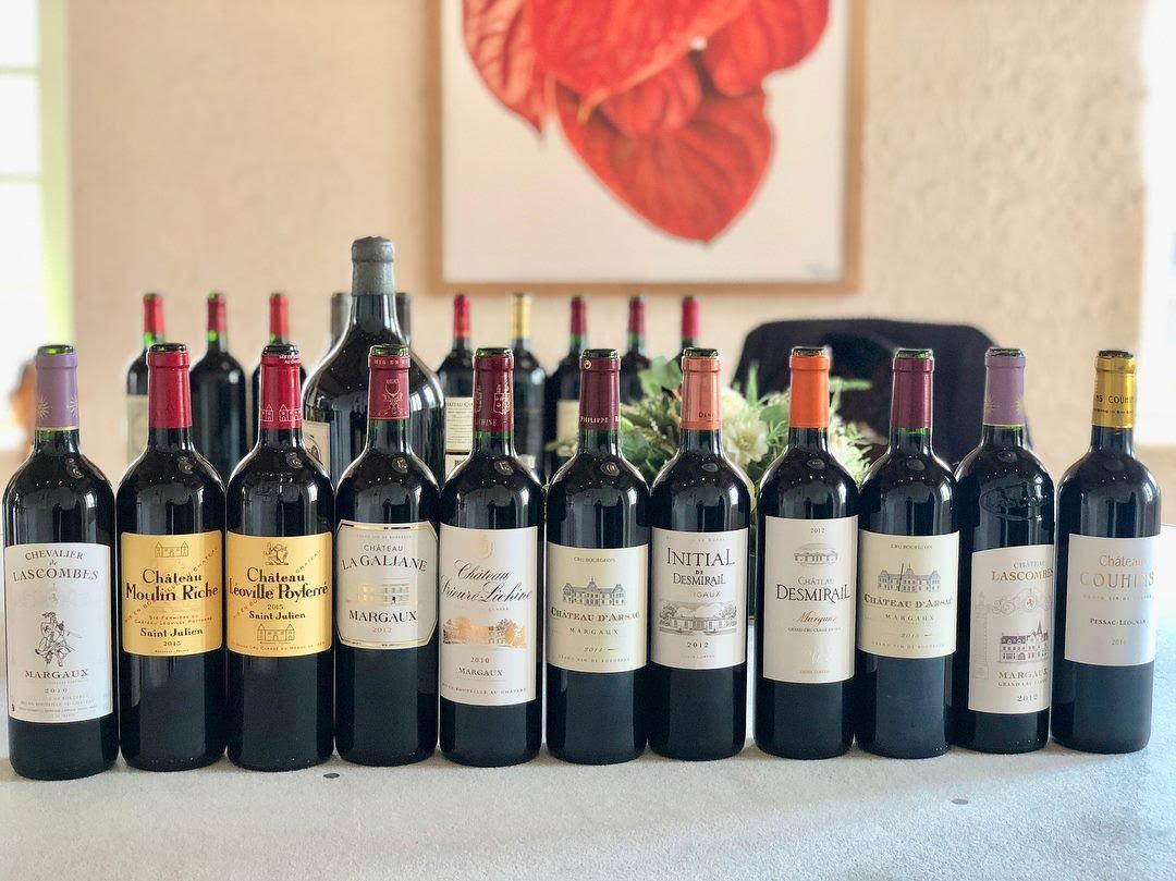 Selection of Bordeaux Red Wine