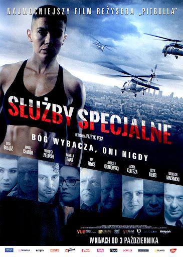 Przód ulotki filmu 'Służby Specjalne'