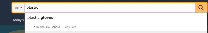 Amazon's search query