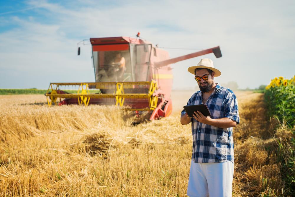 As máquinas e as tecnologias são grandes aliadas dos produtores agro. (Fonte: Shutterstock)