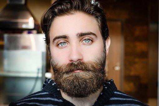 Beard, Face, Man, Model, Mustache