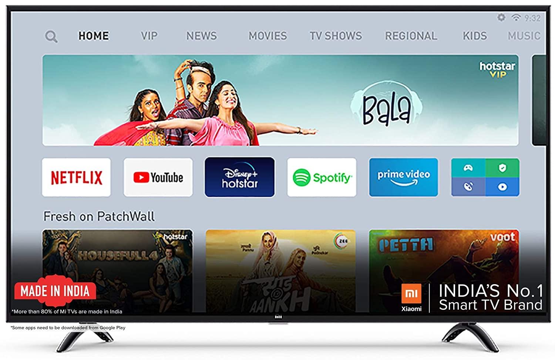 Mi 50 Inch 4K Ultra HD TV (Best 4K TV In Budget)