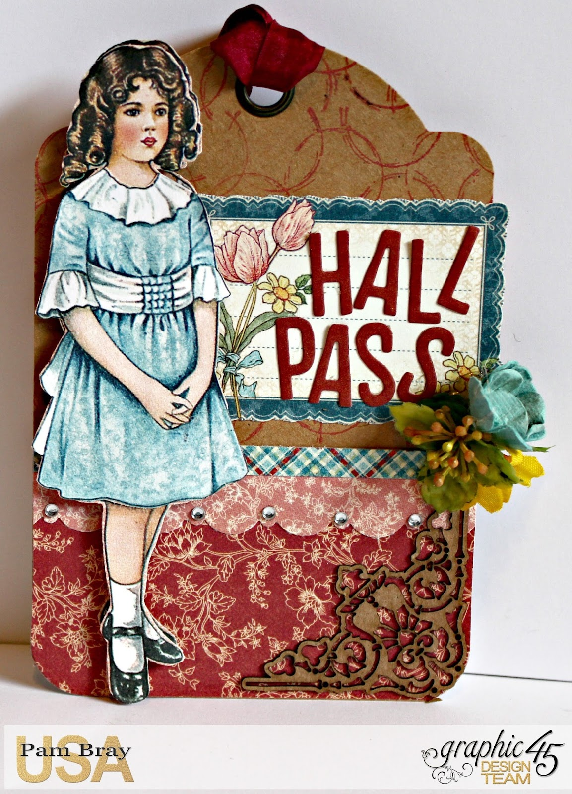 2017 G45 Brand Ambassadors- 2017 Pam Bray  - June 2017 - Penny's Paper Dolls Desk Organizer  with Tutorial Photo 9_7254.jpg