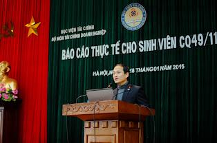 Ông Vũ Như Khuê- Phó trưởng Phòng TCKT, Tổng công ty Bia rượu, nước giải khát Hà Nội